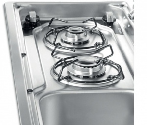 Dometic Smev 9722 - 2 Burner Combination Unit with Glass Lids